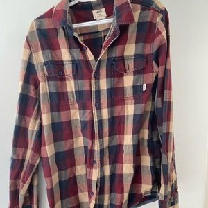 Vans Shirts - Men's Vans Plaid Shirt
